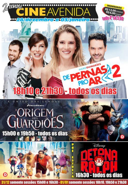 Cine Avenida - 28. 12 a 03.01