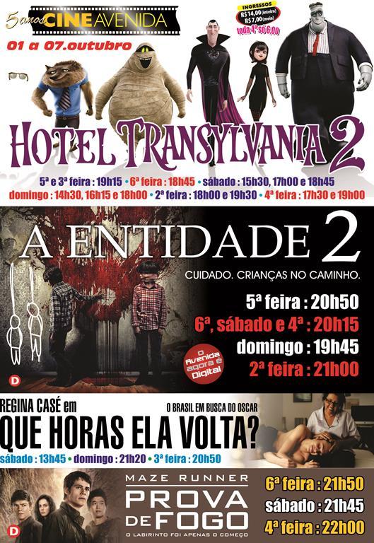 Cine Avenida Cartaz